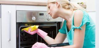 Как в домашних условиях отмыть духовку от жира и нагара