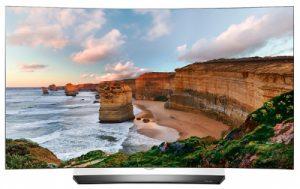 LG OLED55C6V TV