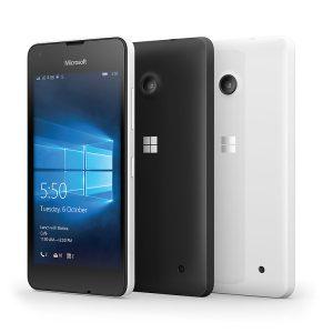 Смартфоны компании Microsoft Lumia 550