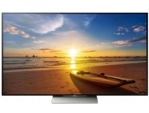 Тонкий ТВ Sony KD 75XD9405