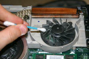 Чистим вентилятор ноутбука от пыли