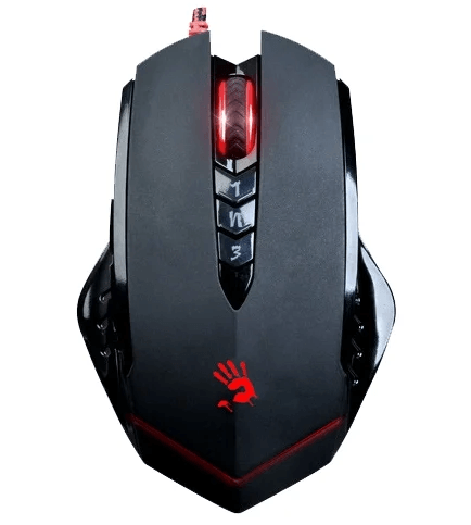 A4Tech Bloody V8M game mouse Black USB 2019