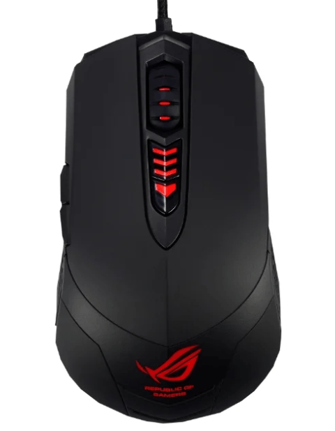 ASUS ROG GX860 Buzzard Mouse Black USB 2019