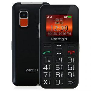 Телефон для пенсионеров Prestigio Wize E1