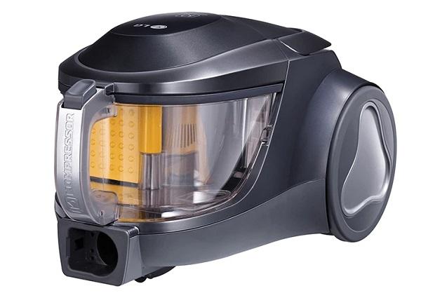 недорогие пылесосы с контейнером до 10000 рублей LG VK76W02HY