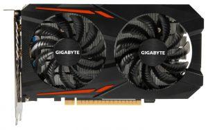 Карта GIGABYTE GeForce GTX 1050 Ti 1316Mhz PCI-E 3.0 4096Mb 7008Mhz 128 bit DVI HDMI HDCP OC