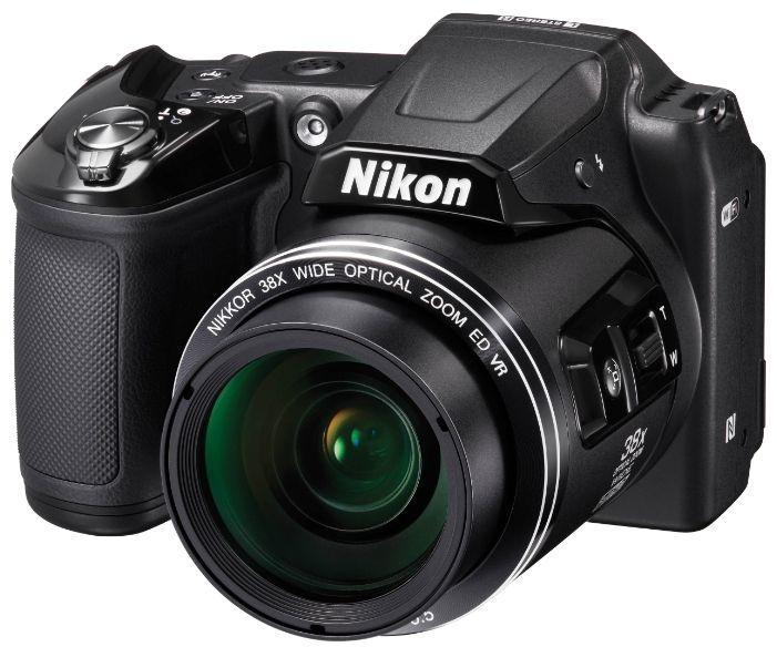 Бюджетный Nikon Coolpix L840