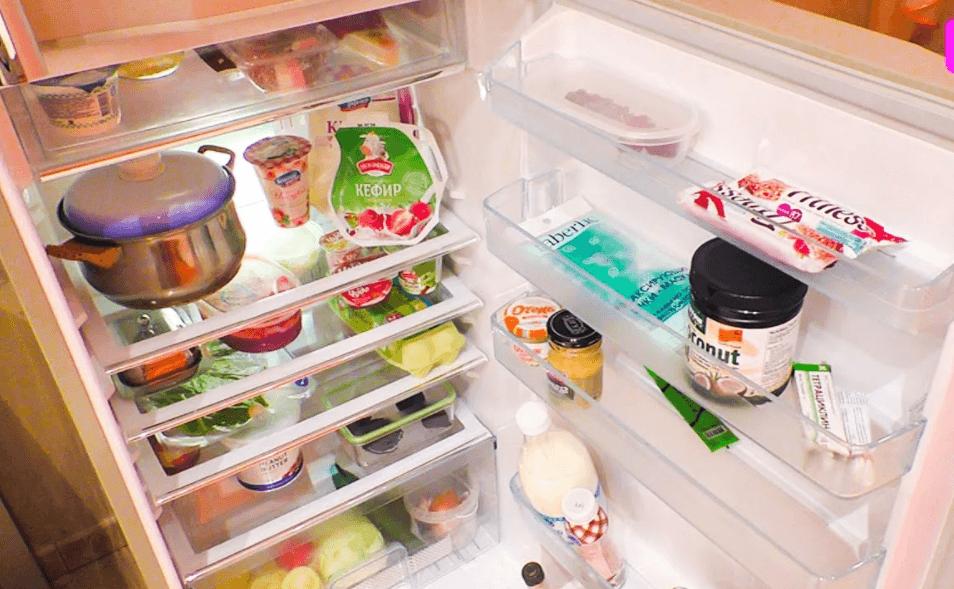 Чистота и порядок в холодильнике