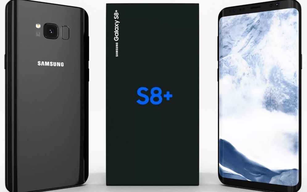 Изогнутый Samsung Galaxy S8+ 64GB