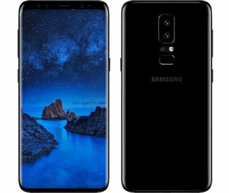 Изогнутый Samsung Galaxy S9+ 64GB