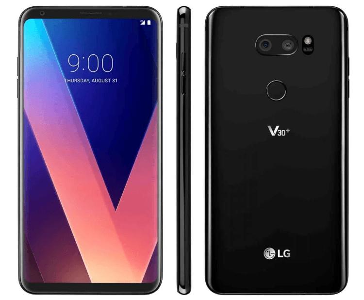 LG V30+ с двойной камерой