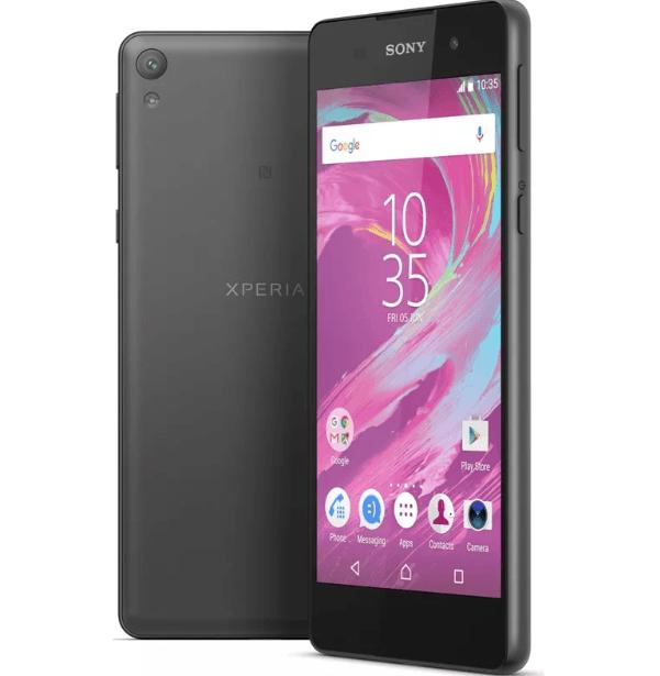 Sony Xperia E5 с нфс