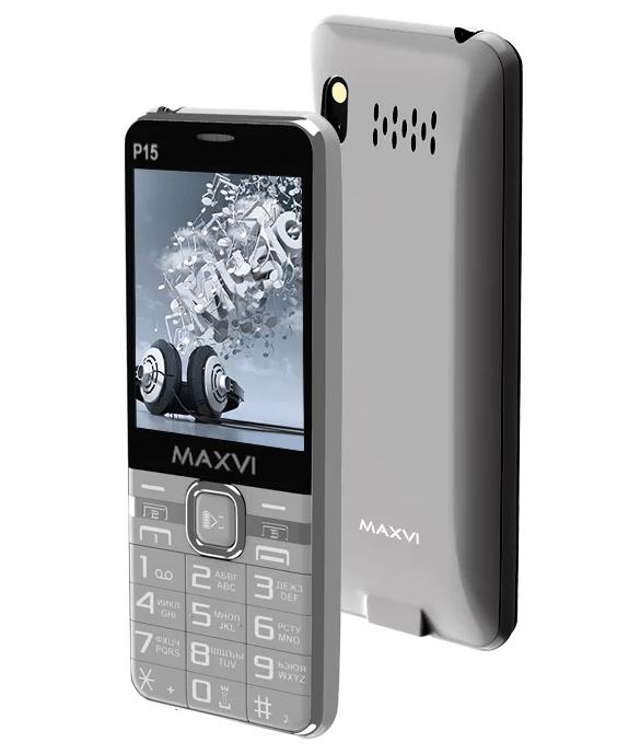 MAXVI P15 с 3 сим картами