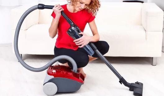 Проверка пылесборника и фильтров