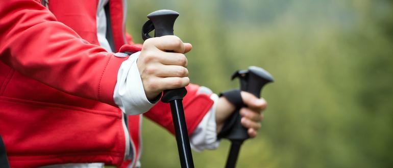 10 лучших палок для скандинавской ходьбы