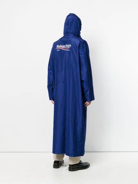 BALENCIAGA 2017 Padded Raincoat