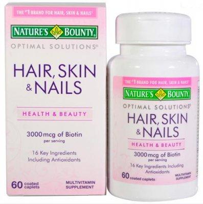 Лучшие витамины для волос и ногтей в 2021 году