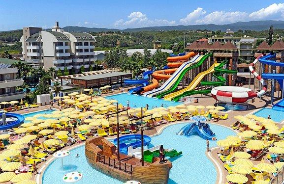 Лучшие отели Турции с аквапарком в 2021 году