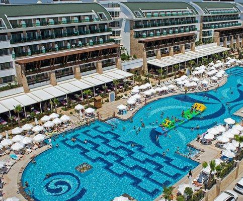 Лучшие отели Турции с аквапарком в 2020 году