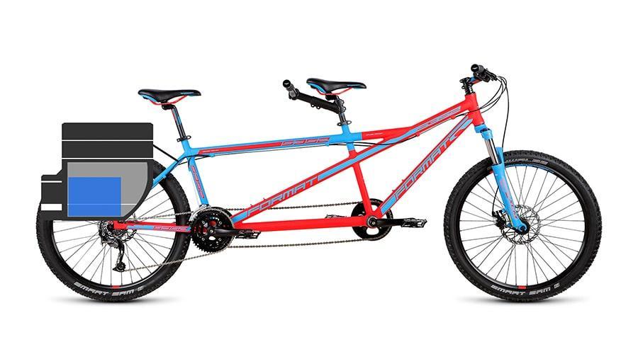 Необычный велосипед Format 5352