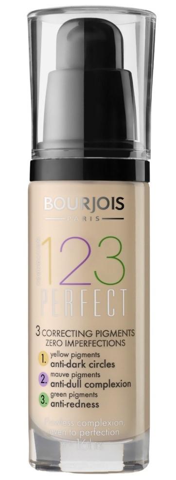 Тональный крем для проблемной кожи Bourjois 123 Perfect