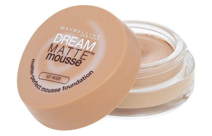 Тональный крем для жирной кожи Dream Matte Mousse