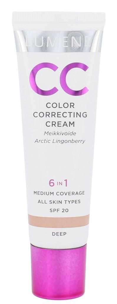 Лучший антивозрастной крем Lumene Color Correcting Cream