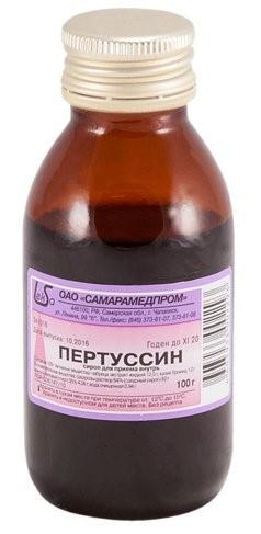 Отхаркивающее средство для выведения мокроты Пертуссин