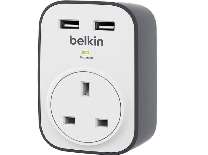Сетевой фильтр с USB Belkin Surge Protectors BSV103
