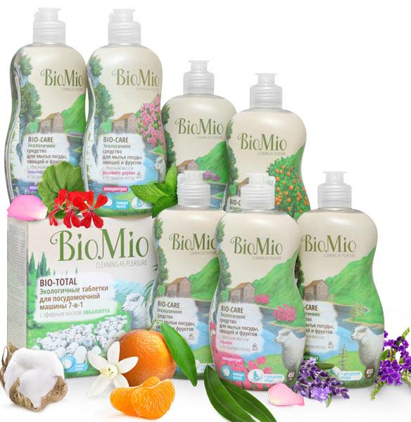 средство для мытья посуды BioMio