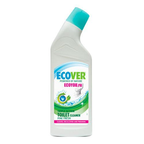 Экологичное средство для очистки унитазов Ecover Сосновый аромат