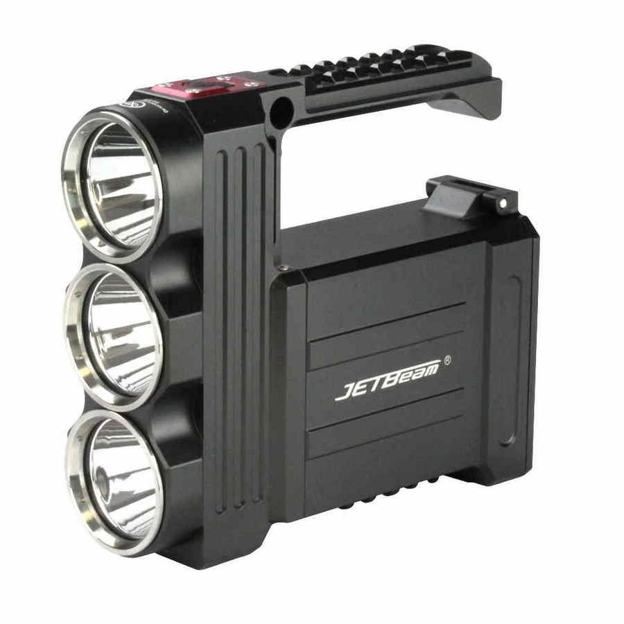 Самый мощный фонарик JETBeam T8 New
