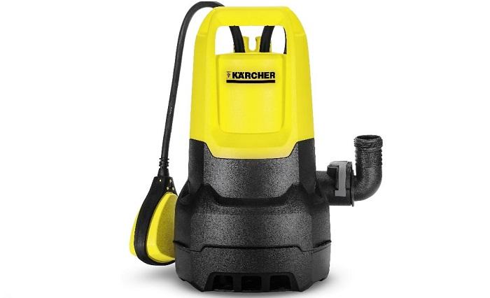 Погружной дренажный насос до 5000 рублей Karcher SP 1 Dirt