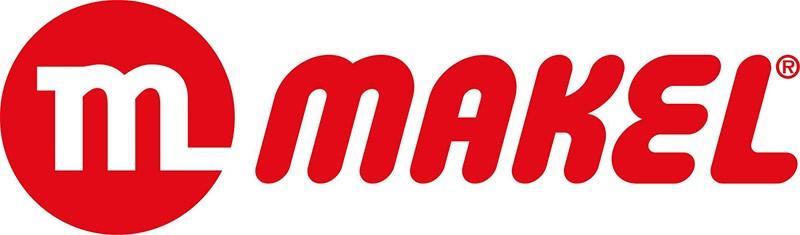 Логотип производителя розеток и выключателей Makel