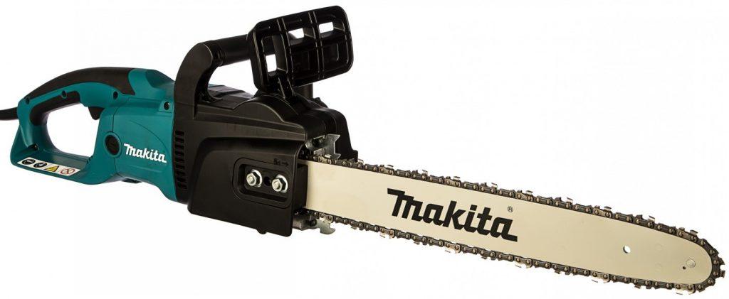 Недорогая цепная электропила с продольным расположением двигателя Makita UC 4550A