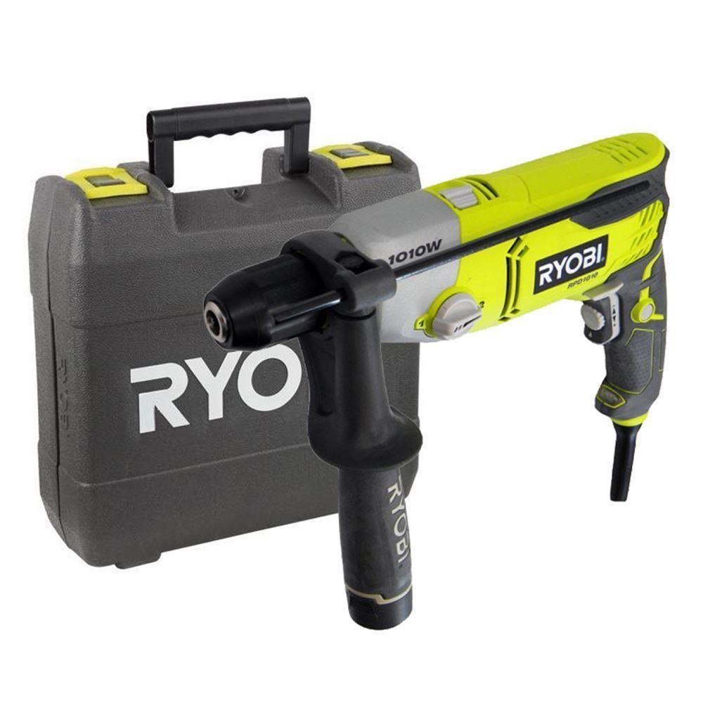 Профессиональная ударная дрель RYOBI RPD 1010K
