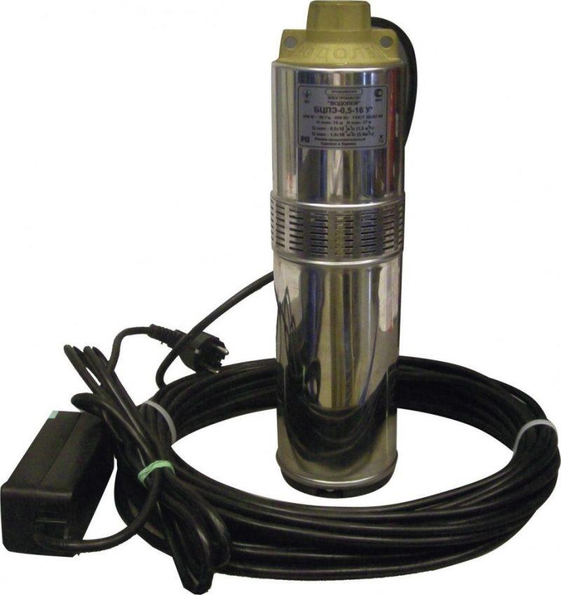 Погружной насос для скважин Водолей БЦПЭ 0.5-32У