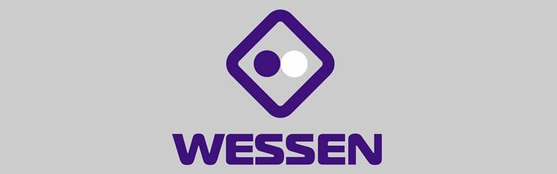 Логотип бренда розеток и выключателей Wessen