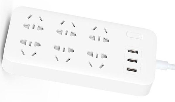 Сетевой фильтр для умного дома Xiaomi Mi Power Strip Quick Charger 2.0