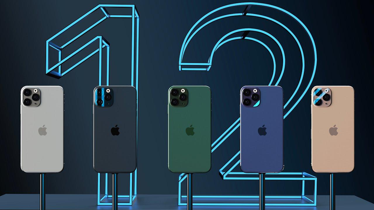 Самые ожидаемые новинки конца 2020 Apple iPhone 12