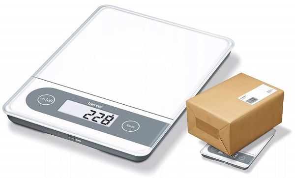 электронные кухонные весы с платформой Beurer KS 59