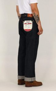 Big John Buckaroo Sanforized Selvedge