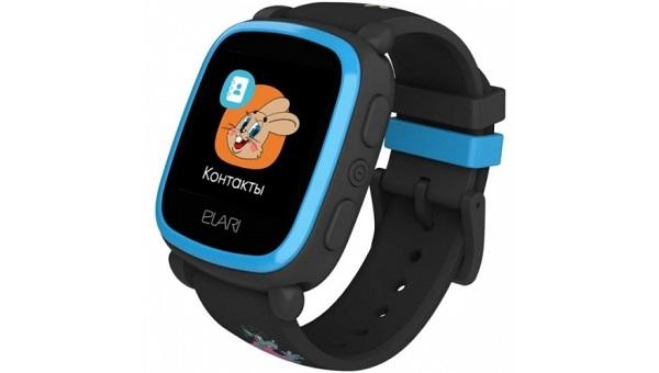 часы с GPS-трекером для детей от 8 до 12 лет ELARI KidPhone «Ну, Погоди!»