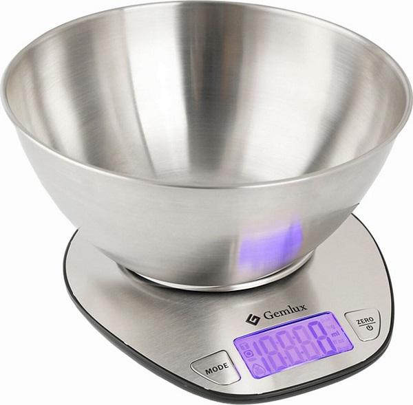 модель кухонных весов с чашей Gemlux GL-KS5SB h