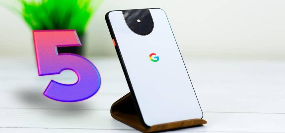 Самые ожидаемые новинки конца 2020 Google Pixel 5