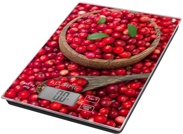 электронные кухонные весы с платформой LUMME LU-1342