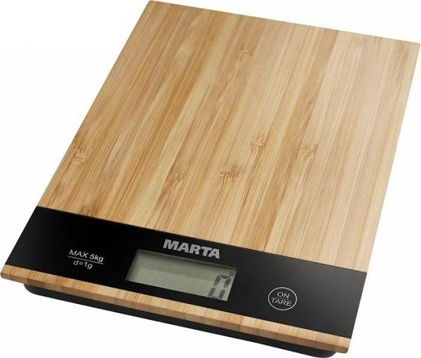 электронные кухонные весы с платформой MARTA MT-1639