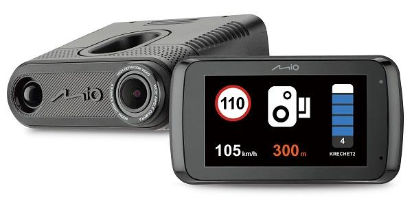 Видеорегистраторы 3 в 1 с лучшим соотношением стоимости и качества Mio MiVue i90