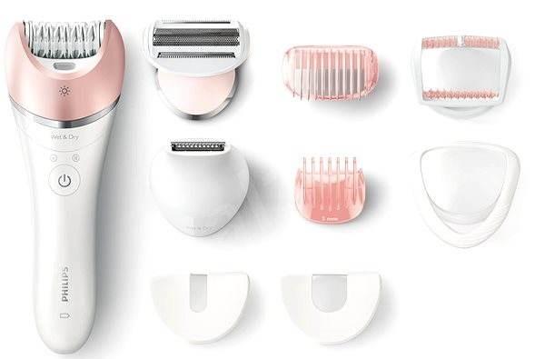 недорогие эпиляторы для тела, ног и зоны бикини Philips BRE640 Satinelle Advanced