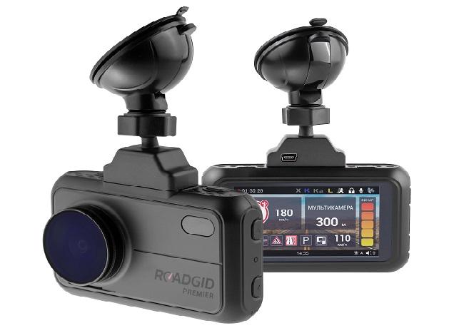 Видеорегистраторы 3 в 1 с лучшим соотношением стоимости и качества Roadgid X8 Gibrid GT